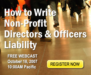 How to Write Directors and Officers Liability