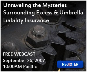 Unraveling the Mysteries Surrounding Excess and Umbrella Liability Insurance
